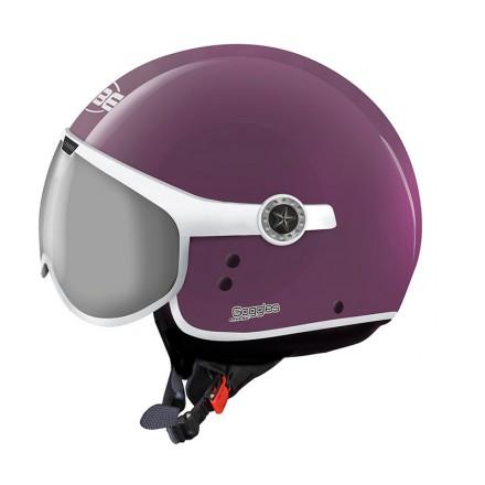 Osbe casco jet Sphera Goggles - Viola lucido