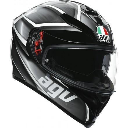 Agv casco integrale K-5 S Multi Tempest - Black/Silver