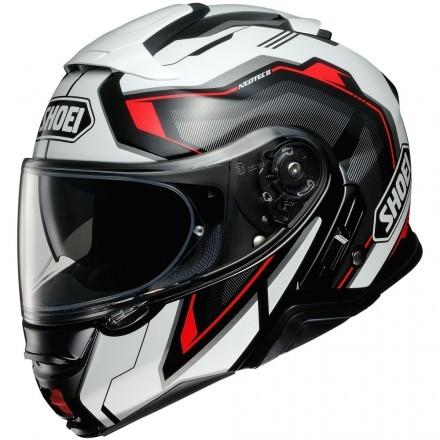 Shoei Neotec 2  - Respect TC1 white/black flip up helmet