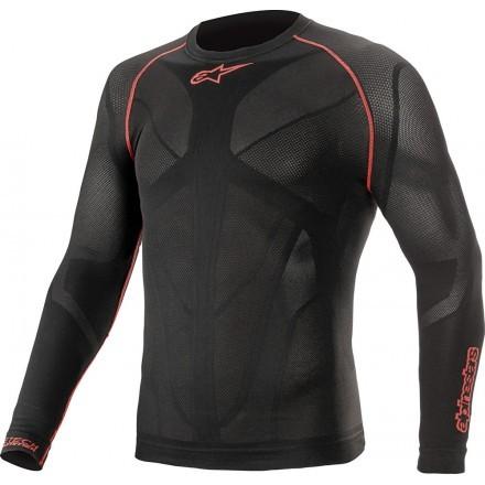 Alpinestars maglia termica uomo Ride Tech V2 Top Long Sleeve Summer - Nero
