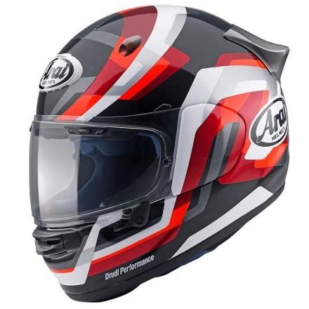 Arai Quantic - Snake Red full face helmet