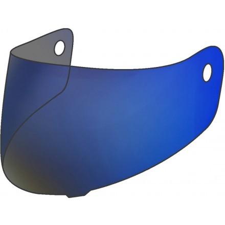 Nolan blue mirror visor for helmet n33