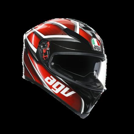 Agv casco integrale K-5 S Multi Tempest - Black/Red