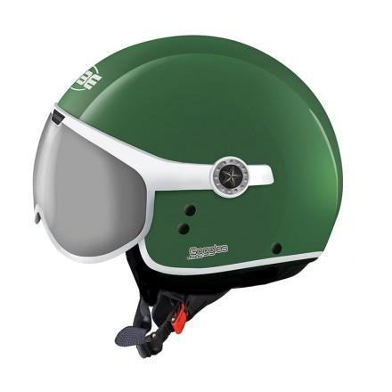 Osbe casco jet Sphera Goggles - Verde lucido