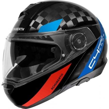 Schuberth casco modulare C4 Pro Carbon - Avio Blue