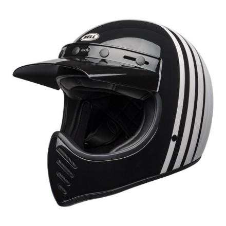 Bell casco integrale Moto-3 Reverb - White/Black