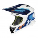 Nolan casco motocross N53 - Lazy Boy Metal White taglia M