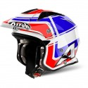 Airoh Trr S Wintage trial helmet - Blue Gloss