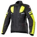Clover Dakar wp Airbag jacket - Black/Yellow