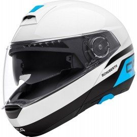 Schuberth casco C4 - Pulse white