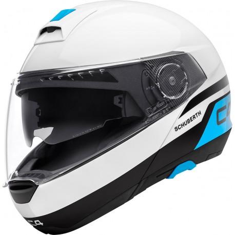 Schuberth casco C4 - Pulse white