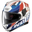 Nolan N87 Plein Air N-Com full face helmet - 50 metal white