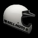 Bell Moto-3 classic full face helmet - Classic White