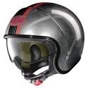 Nolan N21 Joie De Vivre jet helmet - 65 Scratched Chrome
