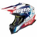 Nolan casco motocross N53 Sidewinder - 42 Metal White taglia S