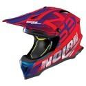 Nolan N53 Whoop cross helmet - 45 Corsa Red