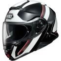 Shoei Neotec II - Excursion TC6 Glossy White/Black flip up helmet