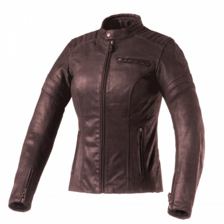 Clover giubbotto in pelle donna Bullet-Pro