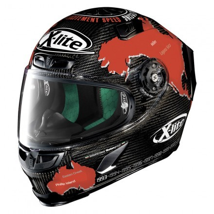 X-Lite casco X-803 Ultra Carbon - Replica Checa