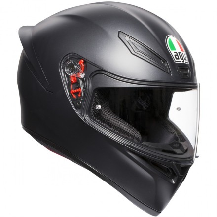 Agv casco K-1 - Solid Matt Black
