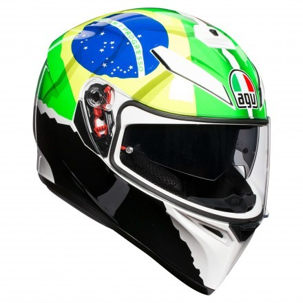 Agv casco K-3 Sv Pinlock Top - Morbidelli 2017