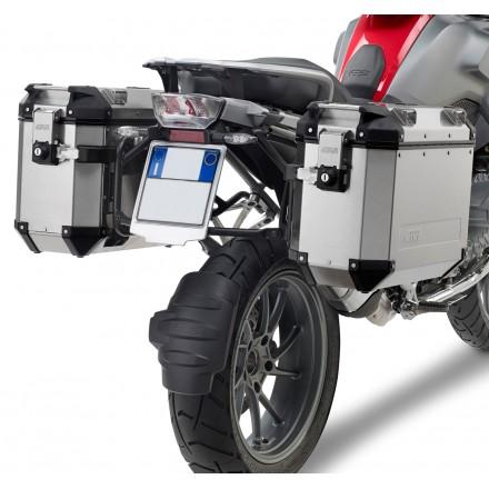 Givi portavaligie laterale PL5108CAM specifico per valigie Trekker Outback