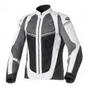 Clover Airjet-4 lady jacket - Black/Grey