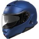 Shoei Neotec II flip up helmet - Matt Blue