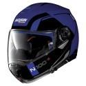 Nolan casco modulare N100-5 Consistency N-com - 24 Flat Cayman Blue
