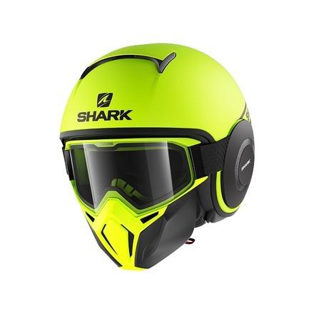Shark casco Street Drak - Neon Serie Mat