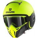 Shark casco componibile Street Drak - Neon Serie Mat YKK Yellow