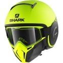 Shark Street Drak - Neon Serie Mat modular helmet YKK Yellow