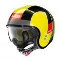 Nolan N21 Spheroid jet helmet 80 Led yellow