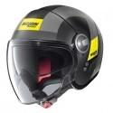 Nolan N21 Visor Spheroid jet helmet - 49 Flat Black