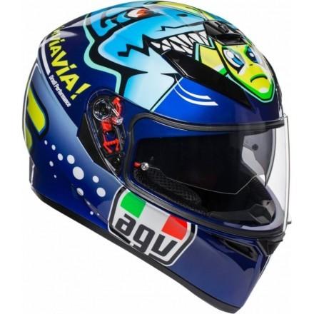 Agv casco K-3 Sv Pinlock - Rossi Misano 2015