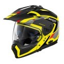 Nolan casco componibile N70-2 X Grandes Alpes N-Com - 27 Led Yellow taglia M