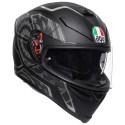 Agv K-5 S pinlock Multi Tornado full face helmet - MattBlack/Silver