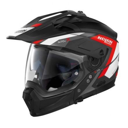 Nolan casco N70-2 X Grandes Alpes N-Com