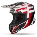 Airoh casco motocross Twist Shading - Red Gloss taglia L