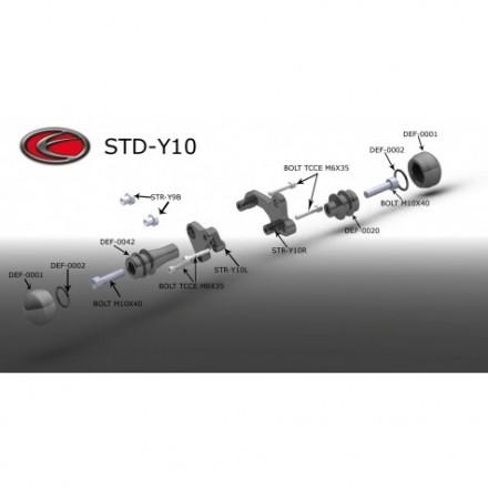 Evotech kit paratelaio Street Defender per Yamaha XJ6