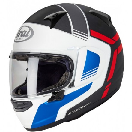 Arai Casco  Profile - V Tube Red