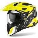 Airoh Commander Duo full face helmet - Yellow matt