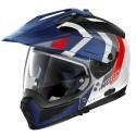 Nolan casco componibile N70-2 X Decurio N-Com - 33 Metal White