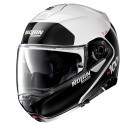 Nolan casco modulare N100-5 Plus Distinctive N-Com 22 Metal White
