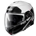 Nolan N100-5 Plus Distinctive N-Com flip up helmet 22 Metal White