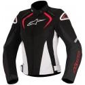 Alpinestars stella t-jaws waterproof 2017 lady jacket - 123 Black/Red