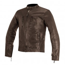 BRASS LEATHER JACKET