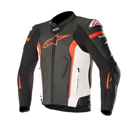 Alpinestars giubbotto in pelle Missile Tech-Air
