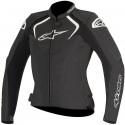 Alpinestars stella jaws 2017 lady leather jacket - 10 Black