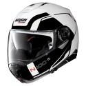 Nolan casco modulare N100-5 Consistency N-com - 19 Metal White